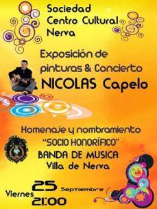 Nerva Centro 25-9-15 Concierto y expo