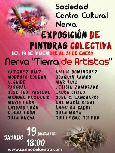 Nerva 19-Cartel Exposición Pinturas