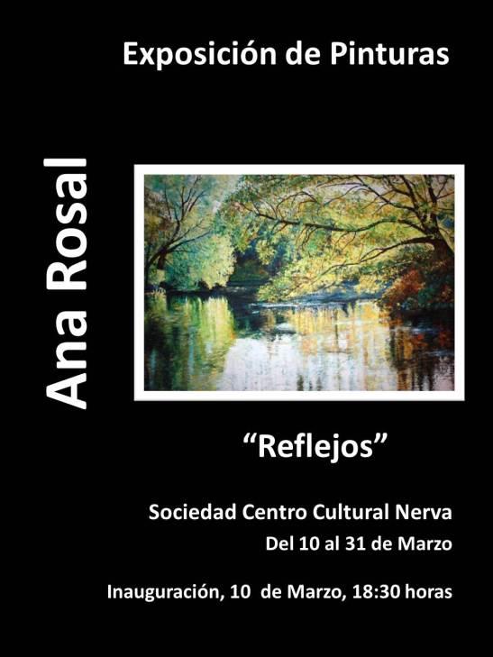 Centro. Cartel Ana Rosal