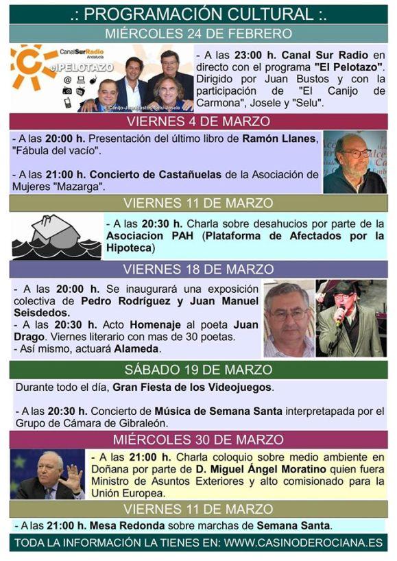 Rociana mes de marzo 2016
