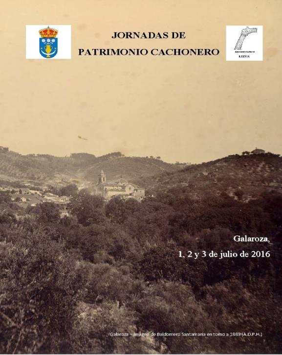 0-Galaroza Cartel Jornadas de Patrimonio de Galaroza