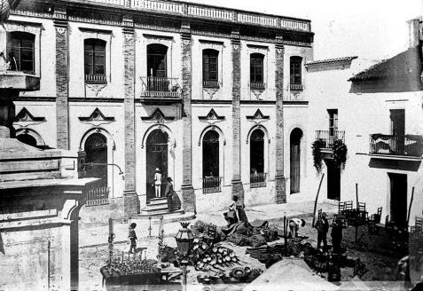 Cortegana abajo-fachada