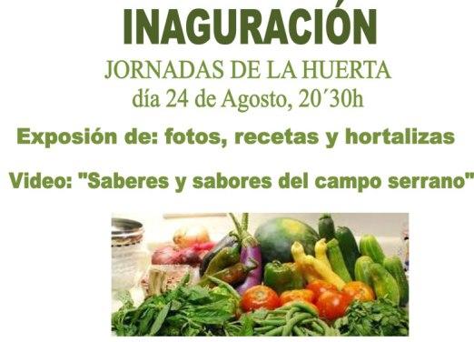 Cortegana-Cartel-inicio-24-8-2016-Jornadas-Huerto-web